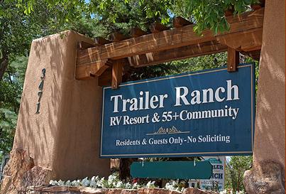 Trailer Ranch Accommodations Santa Fe New Mexico